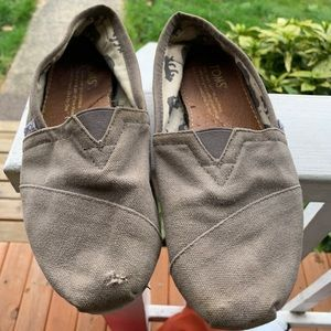 Gray Toms— Painting Customization Available!